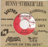 Neville Brown - Right Time / John Wayne - Boogie Down (Justice) UK 7''